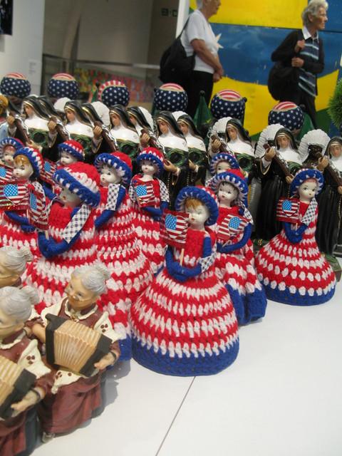 Casa Brasil - freaky crochet dolls