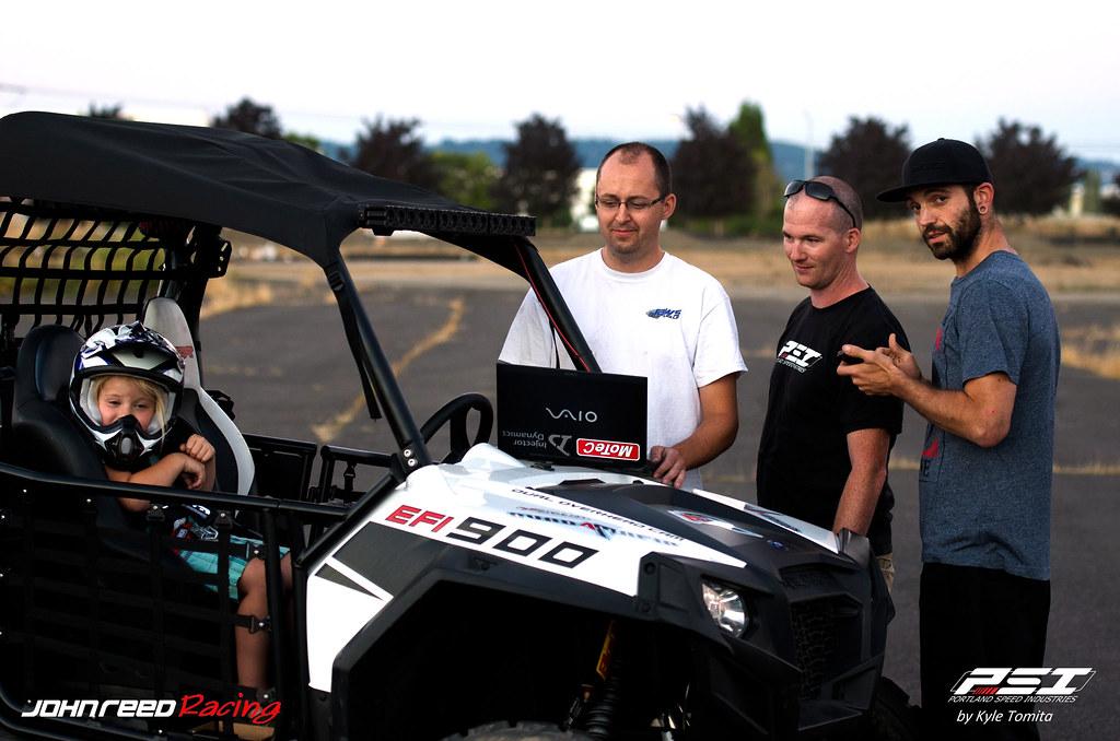 Field testing the PSI & JRR Turbo RZR - 001