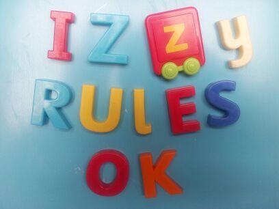 , Izzy Rules OK