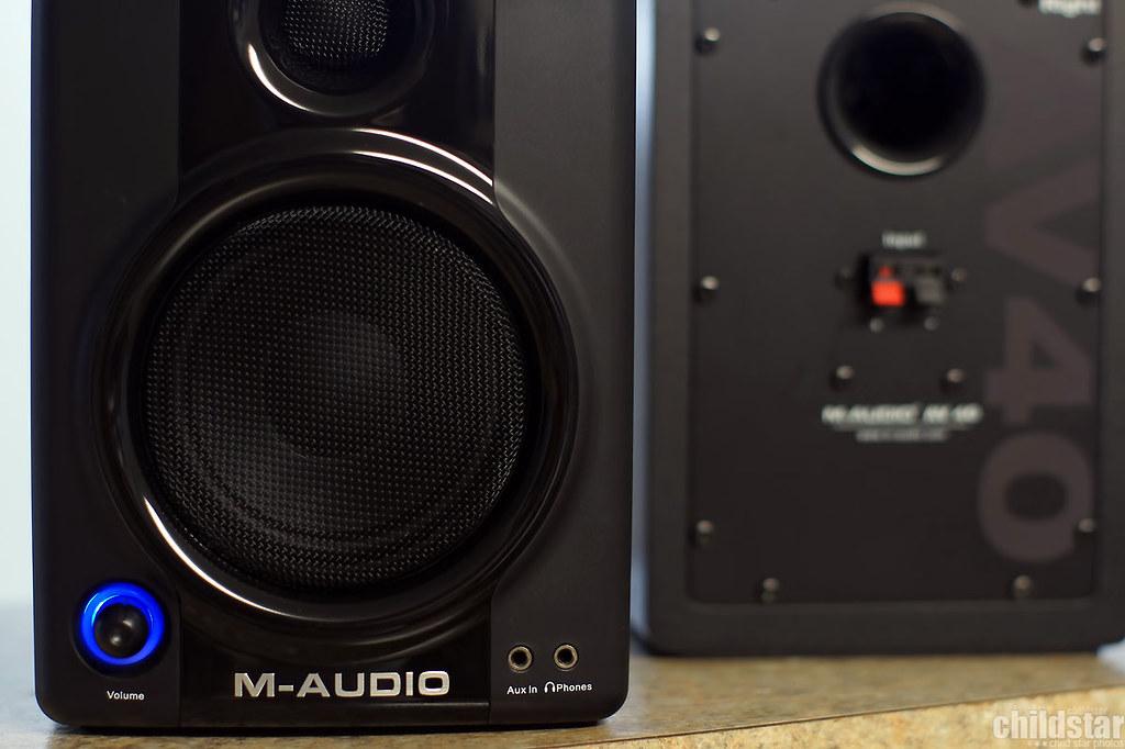 M-Audio AV40 studio monitors | Upgrading my Sony setup i pre