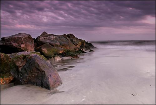 ocean sunset summer beach water canon island long dusk shore t2i