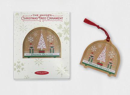 2012 Mayor's Christmas Tree Ornament