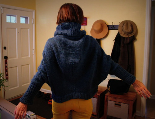 20120810. Cobble Hill Pullover, aka the coziest sweater of all time.