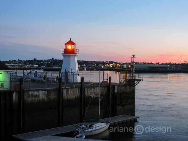 Saint John harbour/sunset