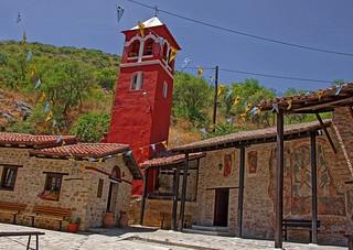 Macedonia, the byzantine monastery of  panagia mavriotissa (11th c), Kastoria, Greece