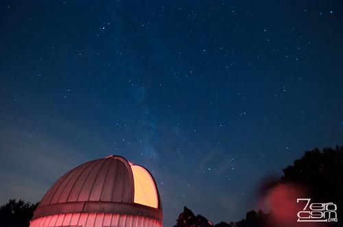 usa night stars texas unitedstates houston observatory astronomy nightsky damon meteor 2012 brazosbend brazosbendstatepark georgeobservatory meteorshower perseid