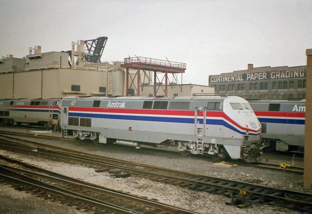 Amtrak >> Amtrak P42 in Chicago | Flickr - Photo Sharing!