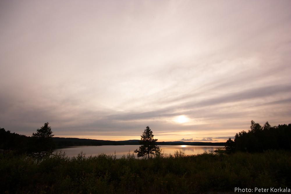 View over Lake Grycken