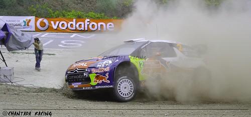 Hïrvonen DS3 WRC Fafe 2012