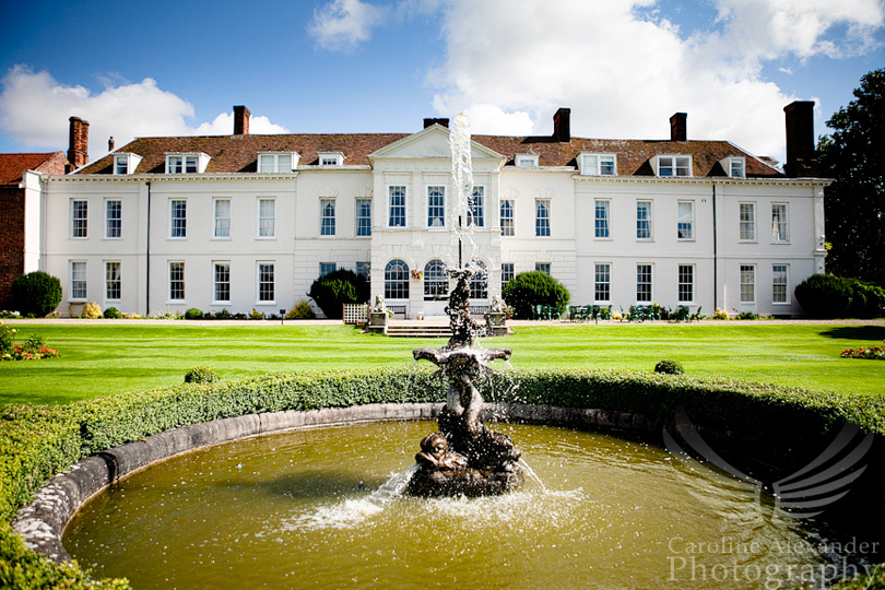 1 Gosfield Hall Wedding Photographer