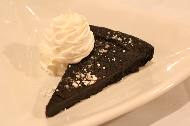 Flourless Chocolate Cake, Duval's New World Cafe, Sarasota, FL