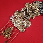 dragon door knocker necklace
