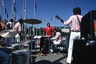 Performers at Bumbershoot, 1974