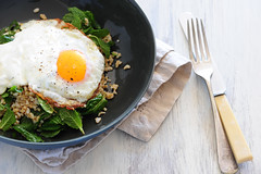 w5 tabbouleh fried eggs