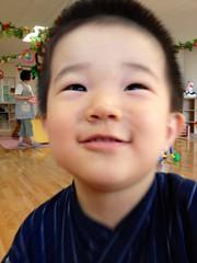 子育て支援センターにて (2012/8/25)