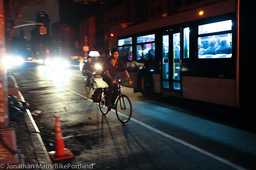 Biking the blackout - NYC-3