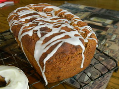 GF Vegan Carrot Loaf Cake