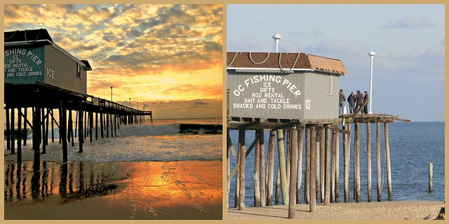Ocean city 39 s fishing pier md before and after sandy for Ocean city md fishing pier