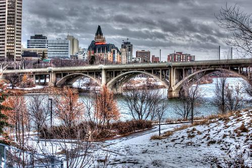 winter canada water river saskatoon prairie saskatchewan shining flickraward flickraward5 mygearandme lickrawardgallery