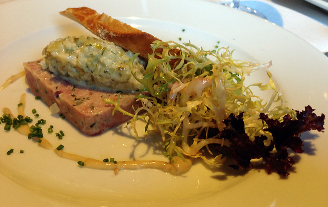 pork onion cornichon terrine