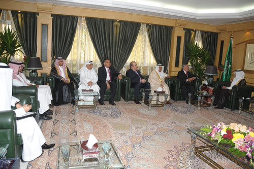 20140313_FIVB President rounds off four day meeting in Saudi Arabia 4