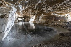 Freedlyville Ice Quarry - Dorset, VT - 2014, Mar - 02.jpg by sebastien.barre