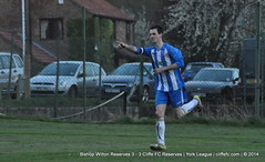 Cliffe FC 2ndXI 3 - 3 Bishop Wilton Reserves 9Apr14