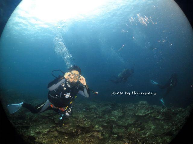Mさん、2年ぶりの石垣島ダイビングです♪