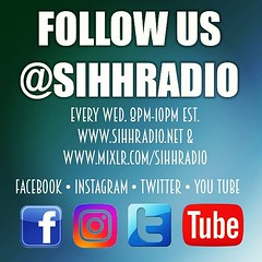 Now Booking Interviews For July  www.sihhradio.net www.mixlr.com/sihhradio
