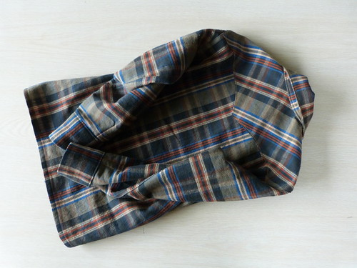 Back Of Flannel, Bias Yoke