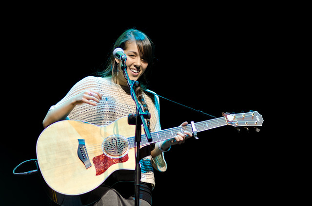 Kina Grannis Live in Singapore (KALLANG THEATRE) | Flickr - Photo ...