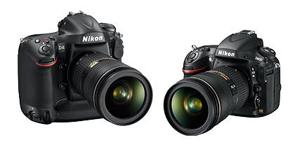 D4 (S$9,799) and 36.3-megapixel D800 (S$4,488)