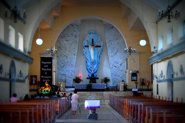 Interior, St. Stephen Church, Ligao | Photo by Shubert Ciencia