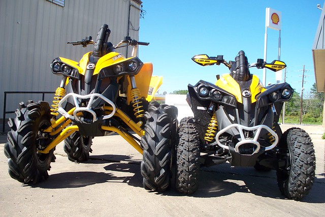 Lifted Can Am Renagade 1000: Can Am Renegade 500 800 1000