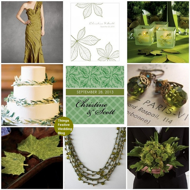 cedar green wedding theme Product image sources