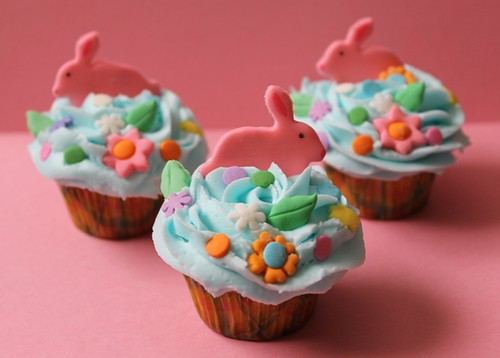 Mini Easter cupcakes - 3