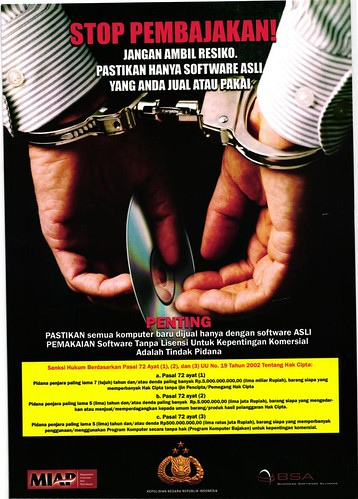 Poster A4 hasil pindaian Canon ImageFormula P-215
