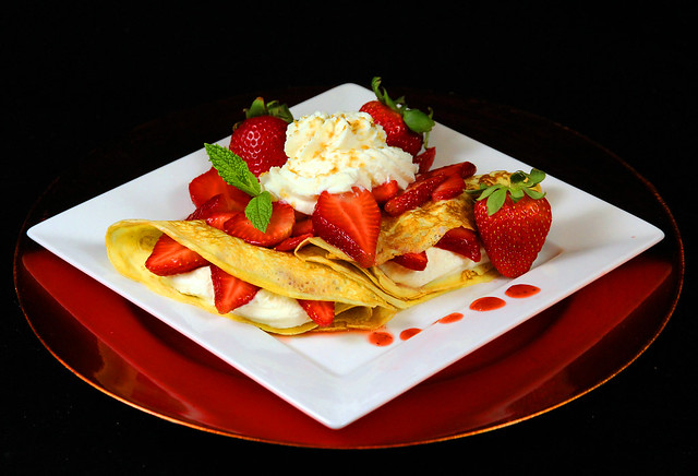 Strawberry Dessert Crepes | Flickr - Photo Sharing!