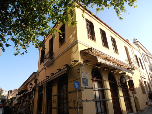 Athens: Building in Plaka