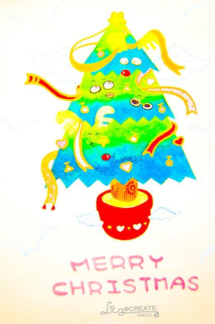 飛天聖誕樹