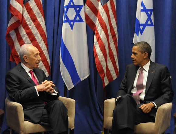 Shimon Perez Meeting with Barack Obama - March 4, 2012
