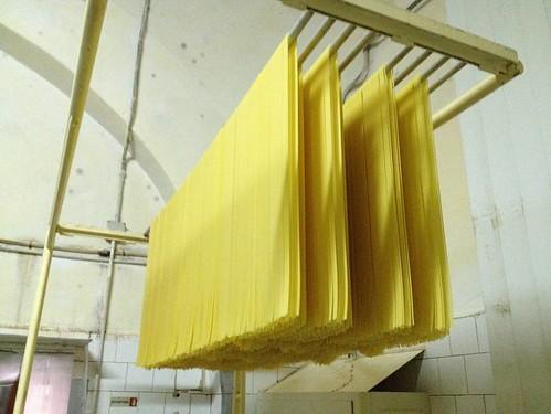 Faella Drying Spaghetti