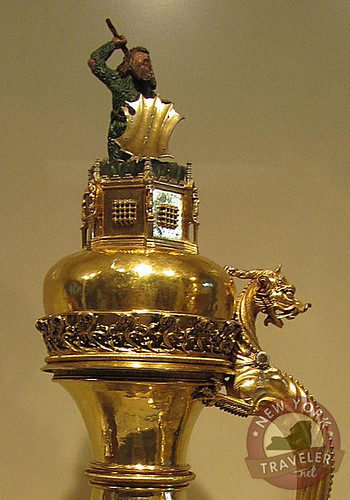 German Gold Steins