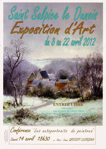 Poster of the annual art exhibition