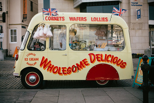cobbles ice cream van #1