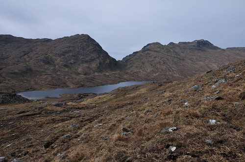 The Gates of Affric across Loch a' Bhealaich