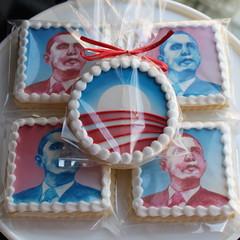 Obama Portrait Cookies