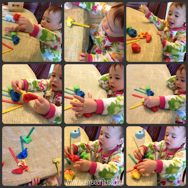 playdough collage