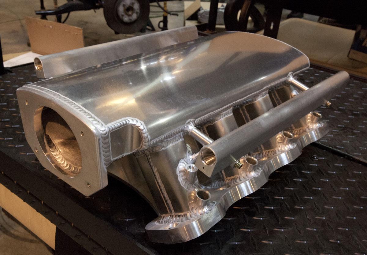 Fs Hogan Sheetmetal Intake Manifold Camaro5 Chevy