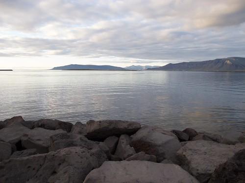 Reykjavik, Coast view from Sæbraut